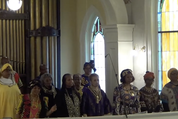 Wesley United Methodist Church – Columbia, SC – When the Music is Right and Siyahamba